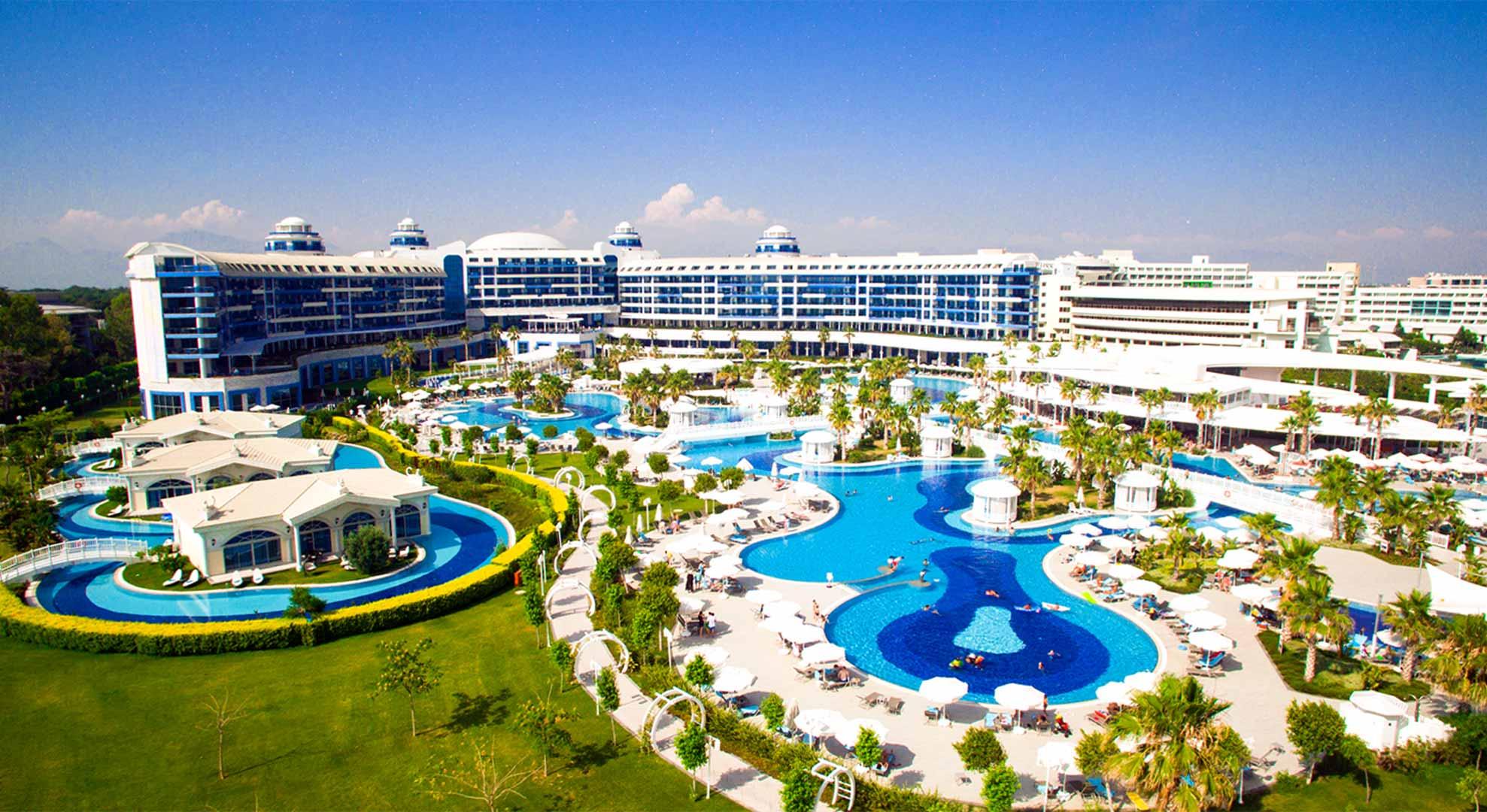 Sunny Belek. En iyi oteller 4 ve 5